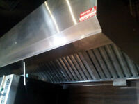 Restaurant Kitchen Hood 9ft