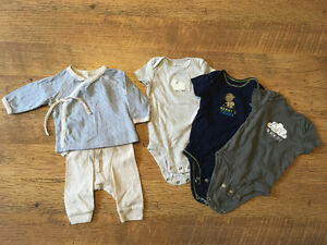 Baby outfit & onsies - 0-3 months