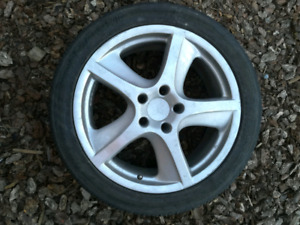 Tires and wheels for VW Touareg or similar.