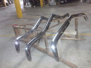 CHEVY CORVAIR BUMPERS CUSTOM CHROMED