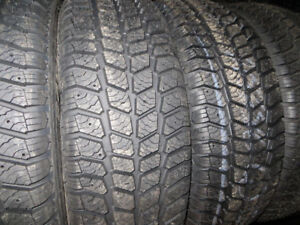 4 P215/65R16 NEW WINTER TIRES $59.00 EACH NEVER INSTALLED