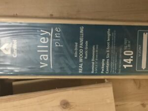 FOR SALE  -  Package CanWel  'Valley Pine' Kiln-Dried T&G Wood P