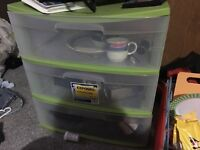 3 plastic storages thing for sale.  Airdrie