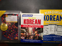 Teach Yourself Korean: 3 unopened complete courses: Books & CD's