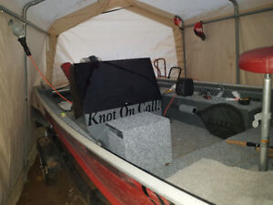 16 side console trade for bass boat/tracker