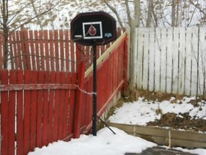 Basketball free standing system