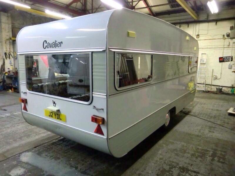 SOLD stc......Retro caravan for sale cavalier 1800t comes ...