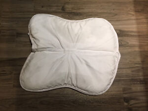 Shedrow Memory Foam Half Pad - used once
