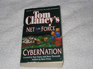 TOM CLANCY'S NET FORCE - CHAPTERBOOKS - ONLY A FEW LEFT!