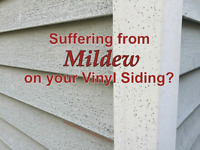 Vynl siding and eavestrough cleaning