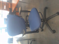 25 Used Matching Office Chairs! Fully Adjustable!