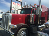 Peterbilt Tractor and Lode King B Train Trailers