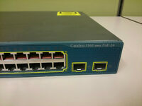 Cisco Catalyst - 3560 PoE 24, 24 port switch