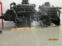 "Two  454/420hp ""Mercury custom racing""engines and TRS parts."