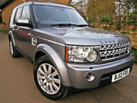 2012 LAND ROVER DISCOVERY 4 3.0 SDV6 AUTO HSC ( 255bhp ). 7 SEATS !! 1 OWNER !!