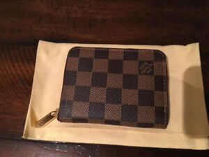 Louis Vuitton Zippy coin purse damier