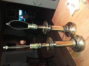 lampe de table avec abat jour (2)
