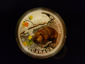 $20 Baby Beaver - Royal Canadian Mint coin and stamp set