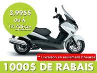 2014 Suzuki Burgman 200 ABS 17,73$/SEMAINE