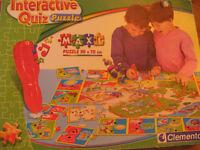 Casse-tête interactif (Interactive Quiz Puzzle)  pour 3-6 ans