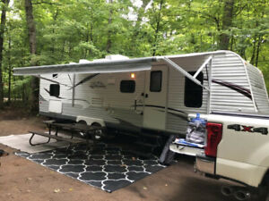 2013 JAYCO 29QBH QUAD BUNK TRAILER