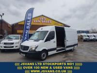 2015 15 MERCEDES-BENZ SPRINTER 313 CDI LWB 136 BHP 2015/15 REG ONLY 87000 MLS D