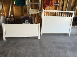 Head and foot board, great condition