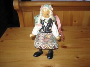 WOODEN DOLL - GERMANY - REDUCED!!!!!