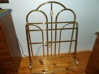 Brass like Clothes Holder