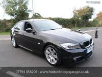 BMW 3 SERIES 318D M SPORT F.S.H Bluetooth Stunning Car, Black, Manual, Diesel, 2