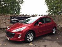 Peugeot 308 1.6 HDi Sport 5dr in Red FULL SERVICE & MOT