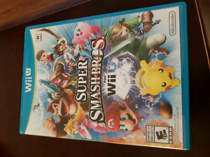 Super smash bros wii u  (ne fonctionne pas)