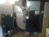 1993 NewMac Oil Wood Combination Furnace