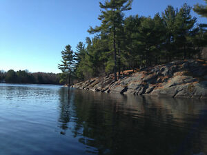 Waterfront cottage FOR SALE. Canadian Shield. Perth/Westport.