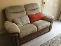 Lovely 2 seater sofa / couch
