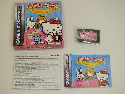 !!! NINTENDO ADVANCE GBA SPIEL Hello Kitty OVP, gebraucht aber GUT !!! gebraucht kaufen  Großefehn
