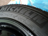 185/65R14 Michelin x-ice winter tires rims, in great condition