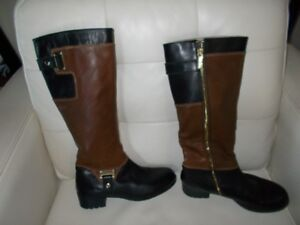 Boots Leather Ellen Tracey