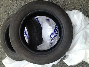 2 Michelin Defender tires for sale