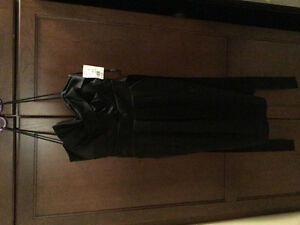 Davids bridal black dress