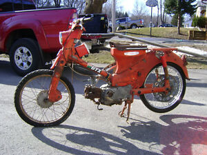 Single Cylinder Hondas From the '60s
