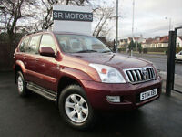 2004 Toyota Land Cruiser 3.0 D-4D auto LC4(HISTORY,WARRANTY)