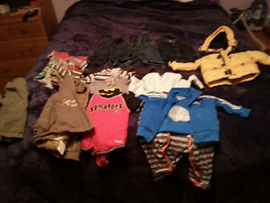 baby boys clothes 0 mth to 12mth