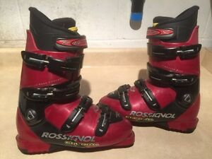 Rossignol Energy Ski Boots Men's Size 8.5, Women's 9.5