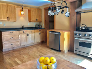 Fully Furnished + Equipped Lakeview Chalet with Pool + Hot Tub