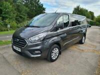 2018 Ford Transit Custom 2.0 EcoBlue 170ps Double cab Limited Van Auto Panel Van