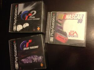 PS1 Racing Car Games Playstation