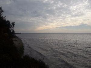 Terrains en bord de mer, vue époustouflante! (Ragueneau)