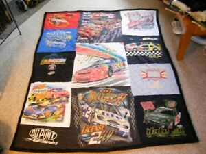 Quilt for Sale - Hand Made - NASCAR