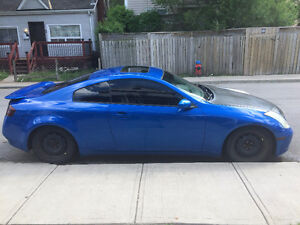 2003 Infiniti G35 RWD Coupe (etested -2018)